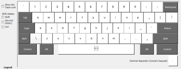 ScriptSource - Entry - Keyboard - Lahu Times Unicode with Latin script