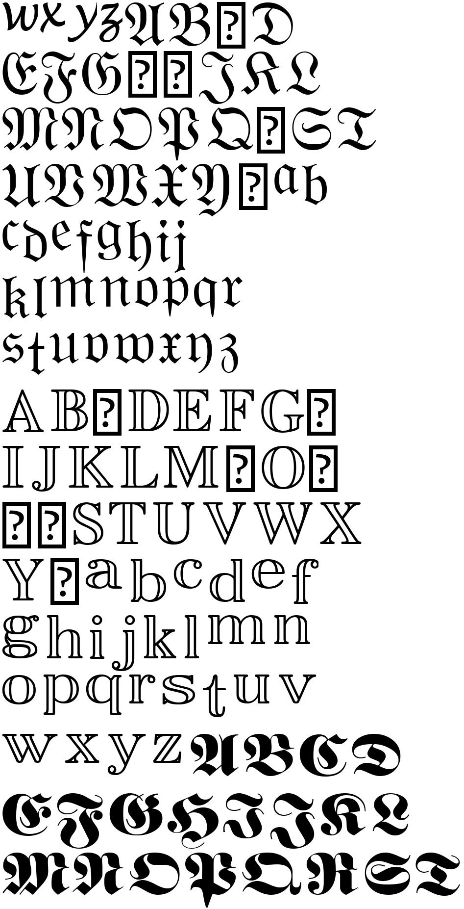 Scriptsource Mathematical Bold Script Small X